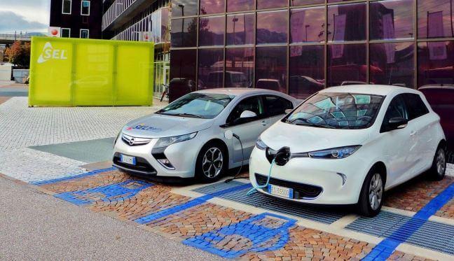 Elektroautos Enzian Office Bozen