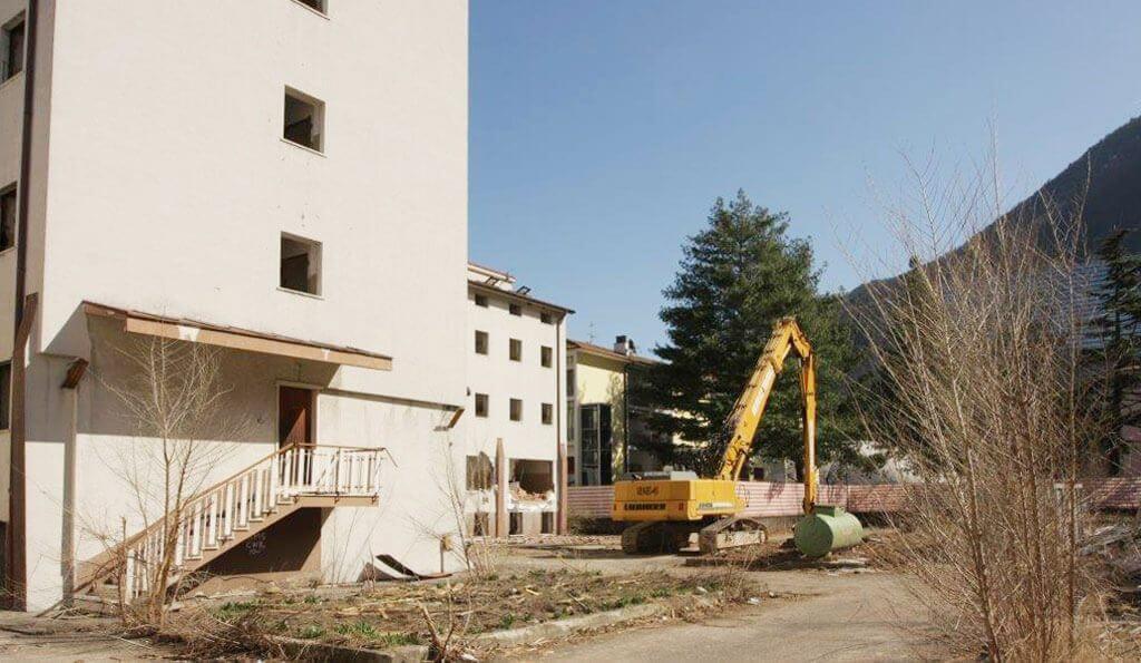 Stadtwohnungen Bozen Baubeginn