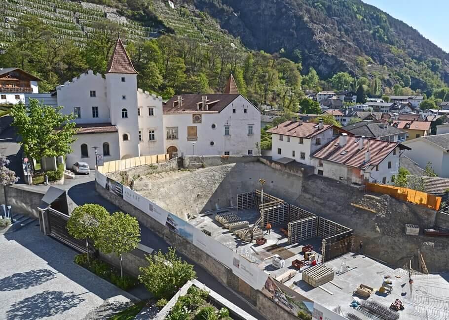 Schlossgarten Schlanders - Neubau
