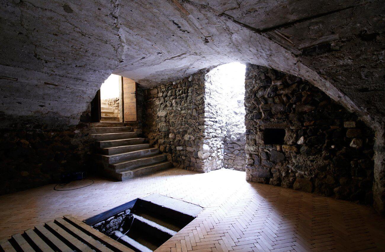 Historische Kellergewölbe