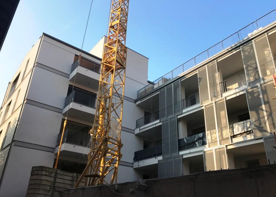 Wohnungen Neubau Schlanders Garage