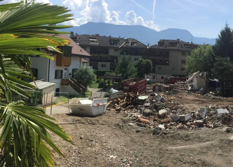 Baustelle Wohnungen Naturns