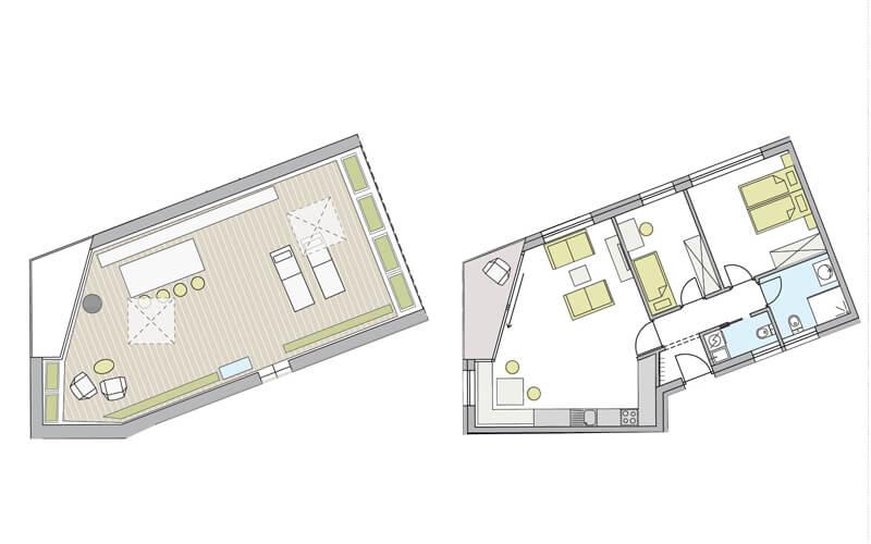 Penthouse Naturns