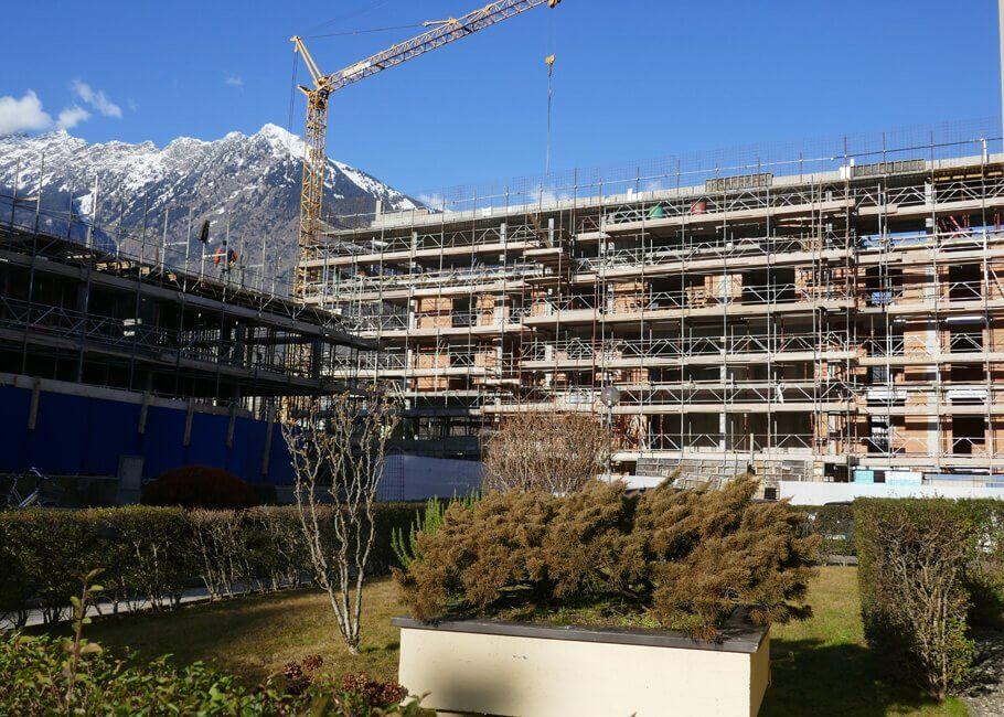 Baustelle Neubau Meran Cityliving.me