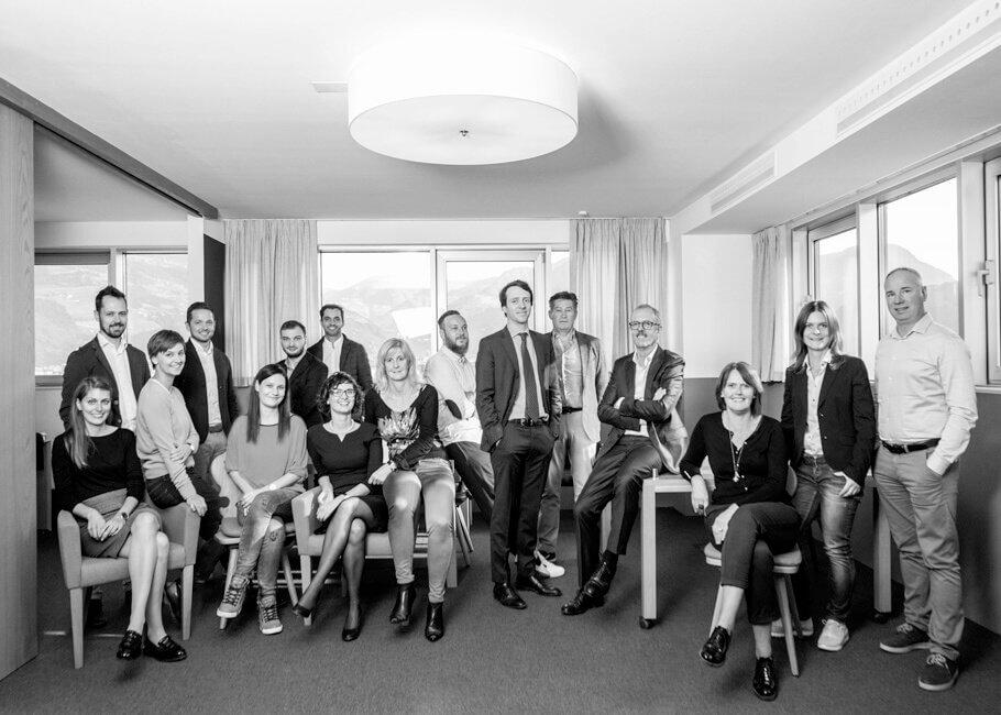 Gruppenfoto Pohl Immobilien Latsch