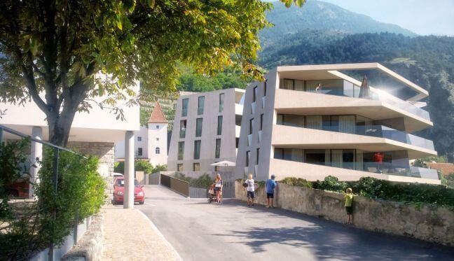 Wohnungen am Sonnenhaug von Schlanders Schlossgarten