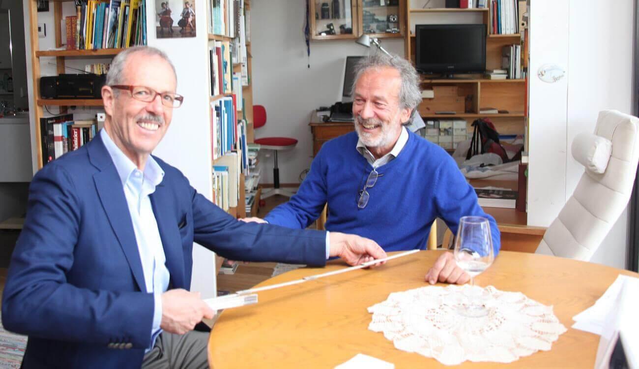 Einweihung Palabirnhaus Schlanders Gianni Bodini Peter Paul Pohl