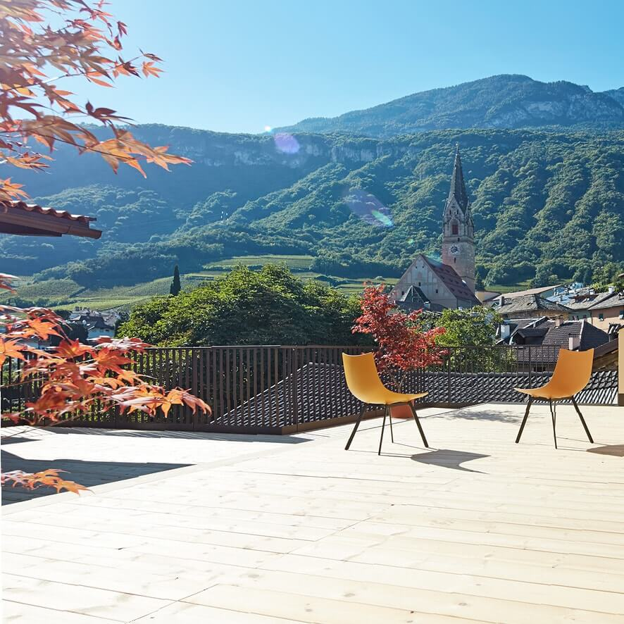 Pfanzelter – terrazza panoramica