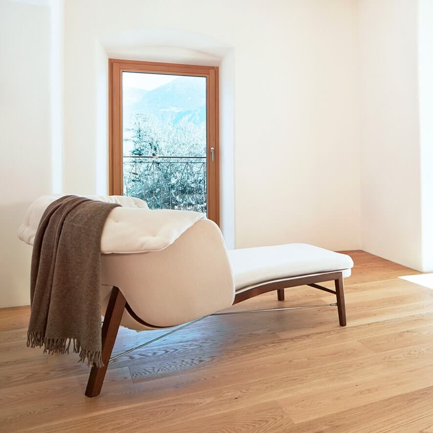 Pfanzelter – divano bianco