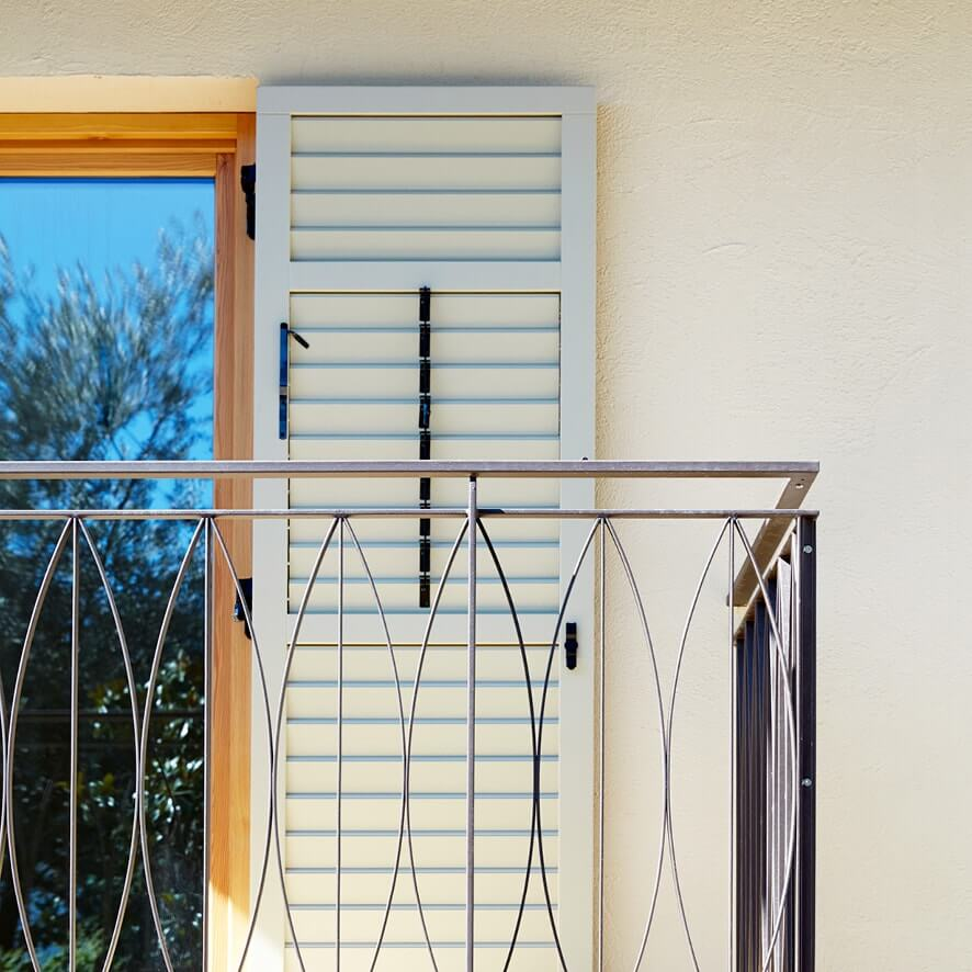 Pfanzelter – balcone dettagliata