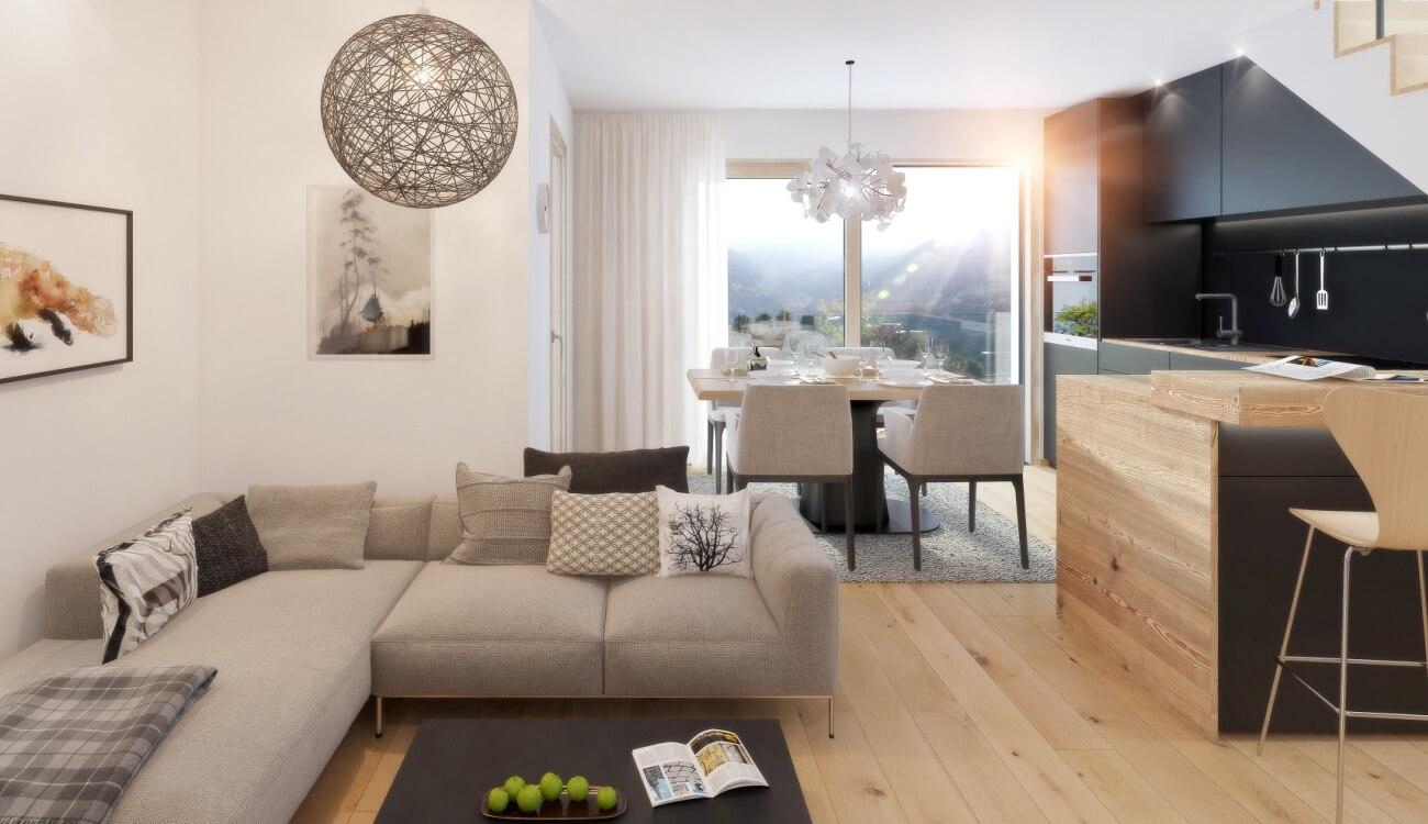 Neubau Wohnungen Naturns
