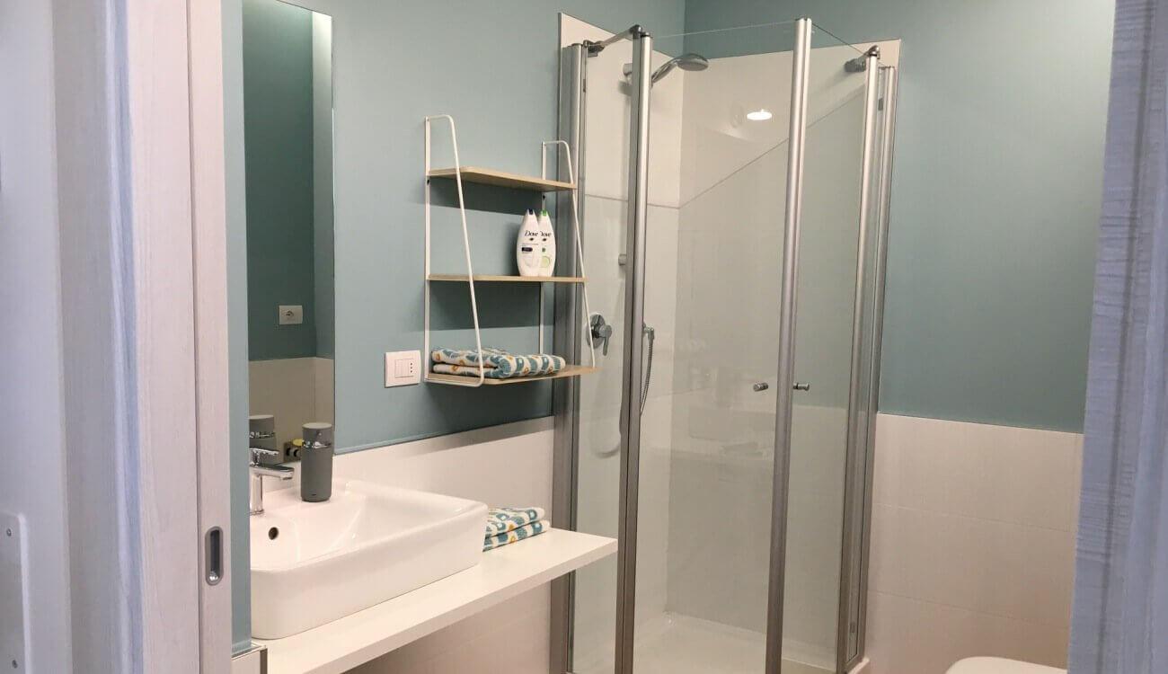 Badeinrichtung Wohnung Trient