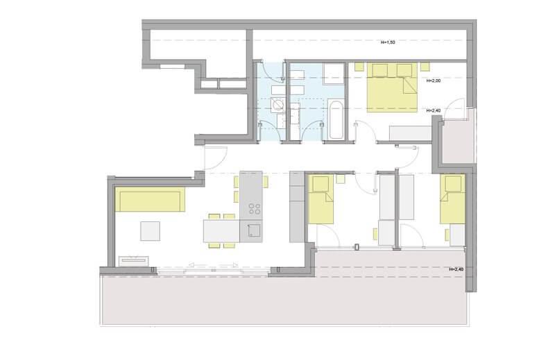 Penthousewohnung Naturns