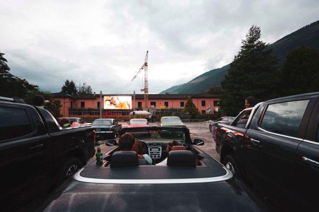 Autokino in Schlanders