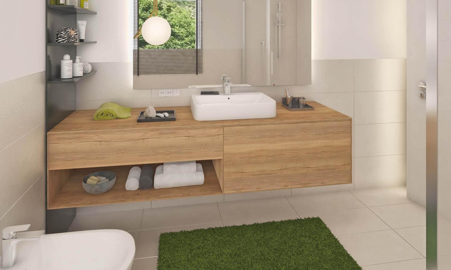 Schöne Bad-Einrichtungen mit hochwertigen Sanitäranlagen Immobilien Vinschgau