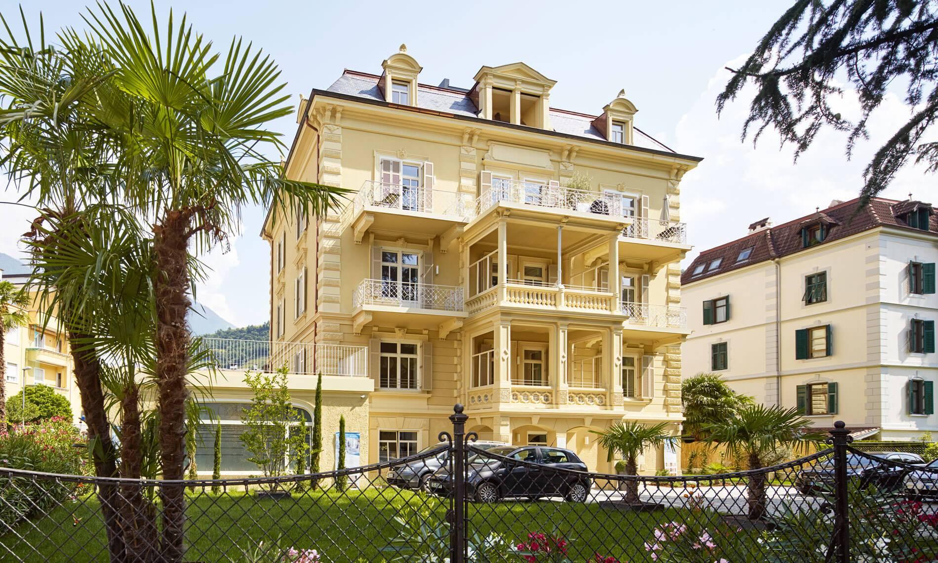 Villa Belsit - Wohnungen in Meran
