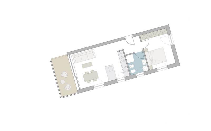 2-Zimmer-Wohnung in Meran
