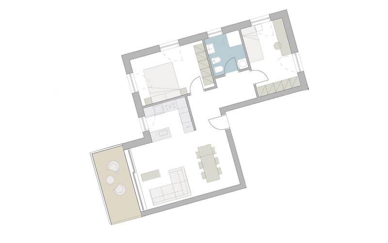 3 - Zimmer- Wohnung in Meran