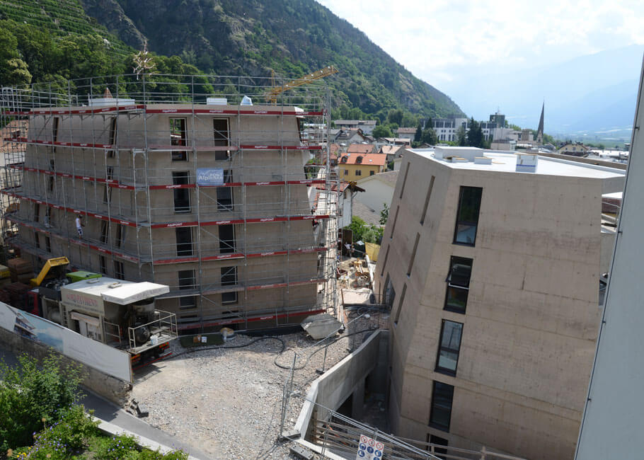 Schlossgarten - Wohnungen in Schlanders
