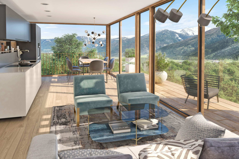 Visualisierung Apfelanger Schlanders Besondere Immobilien Südtirol Schlanders