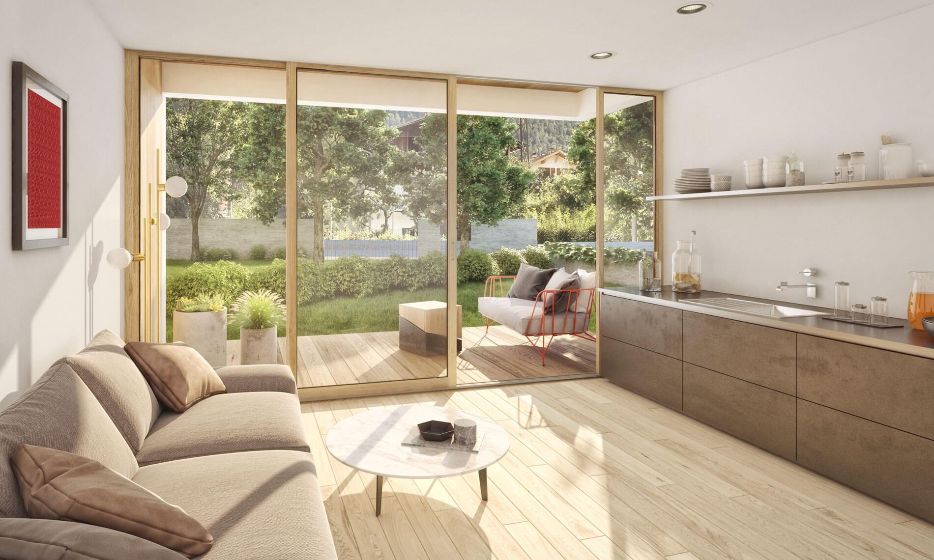 Moderne Wohnungen in Latsch zum Verkauf