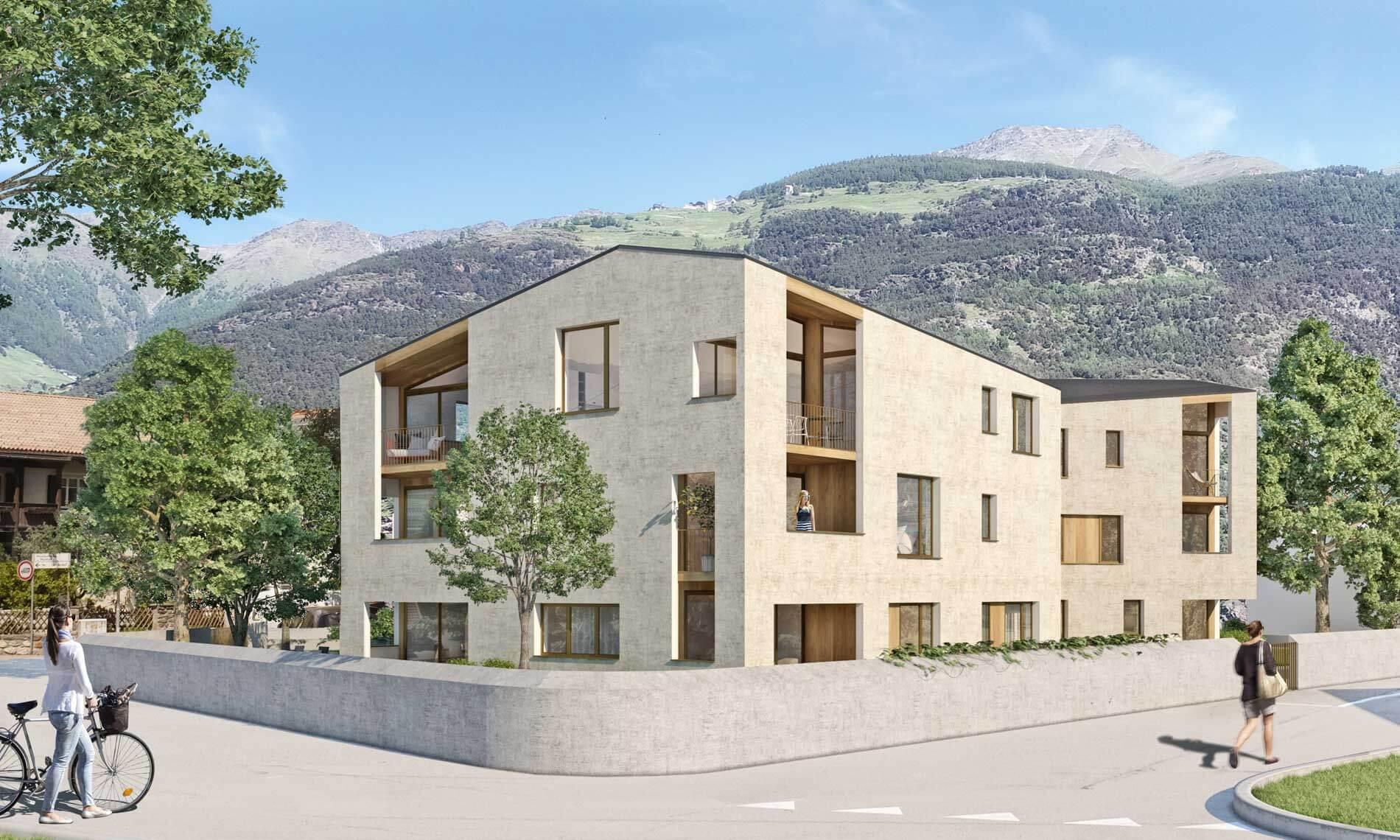 Neubauwohnung in Latsch zu verkaufen
