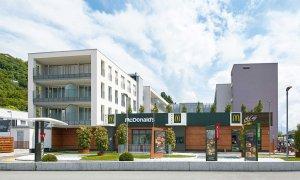 Studentenwohnungen in Trient - direkt beim neuen Mc Donalds