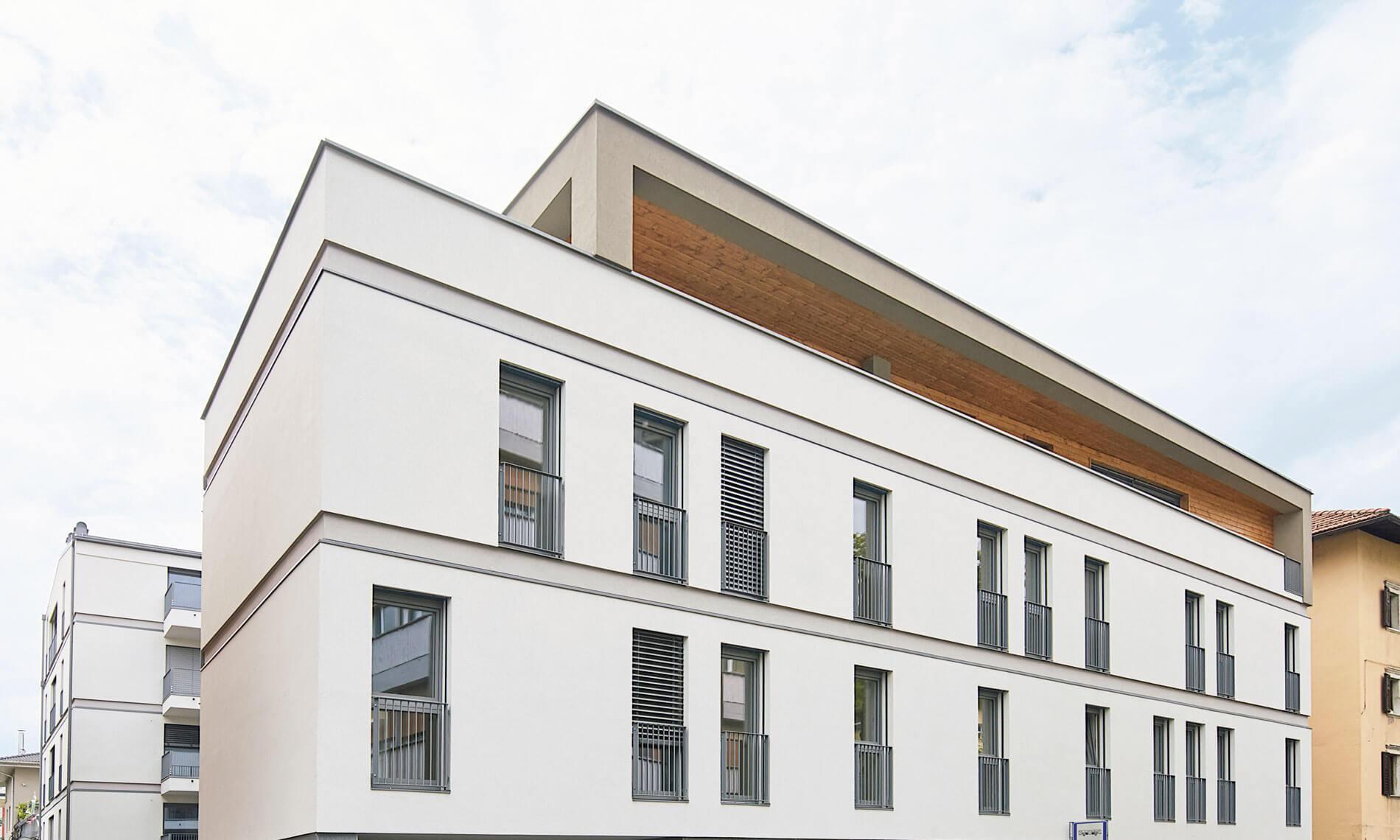 Neubauwohnungen in Trient