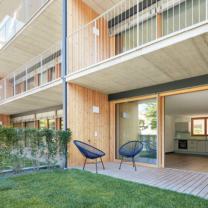 Herrliche Gartenwohnungen, schöne Terrassenwohnungen. Haus Juval 2