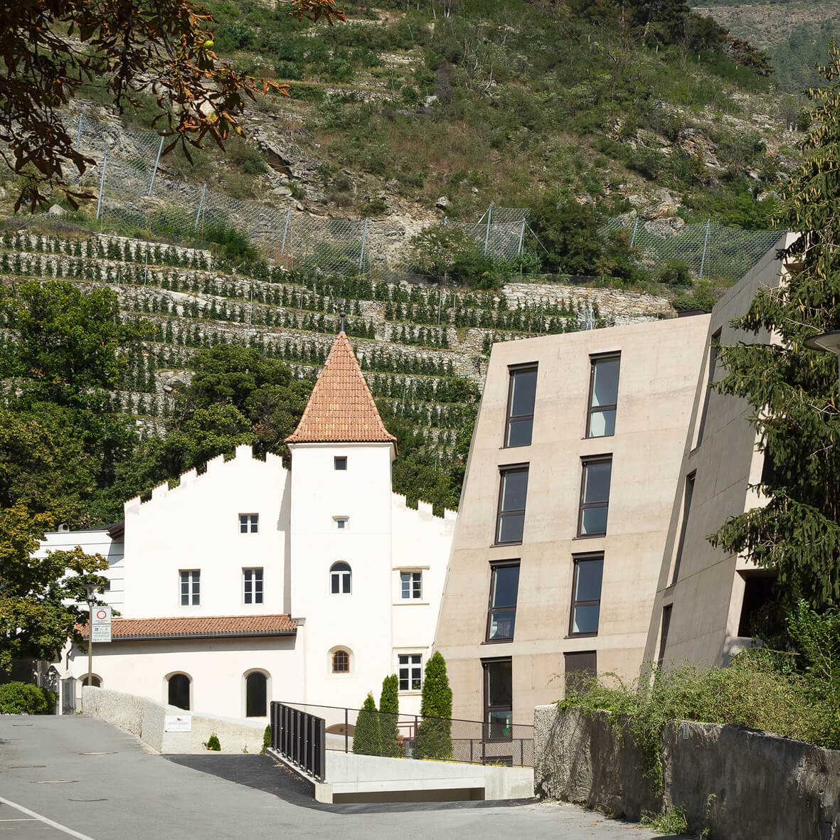 Schlossgarten – Wohnungen Schlanders